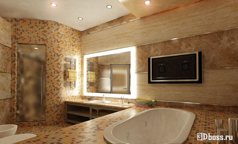 Эксклюзивный дизайн ванной комнаты