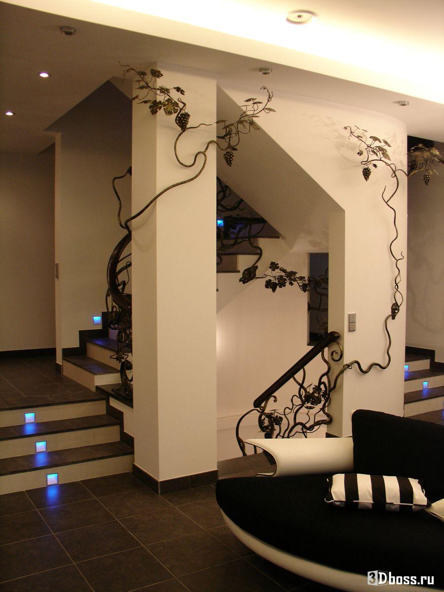 Дизайн лестницы дома игоря николаева